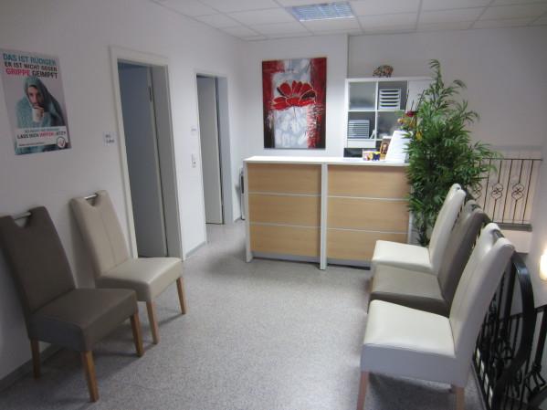 Praxisräume der Praxis Dr. med. Michael Schumacher - Allgemeinmedizin - Innere Medizin - Psychotherapie - Psychotherapeut