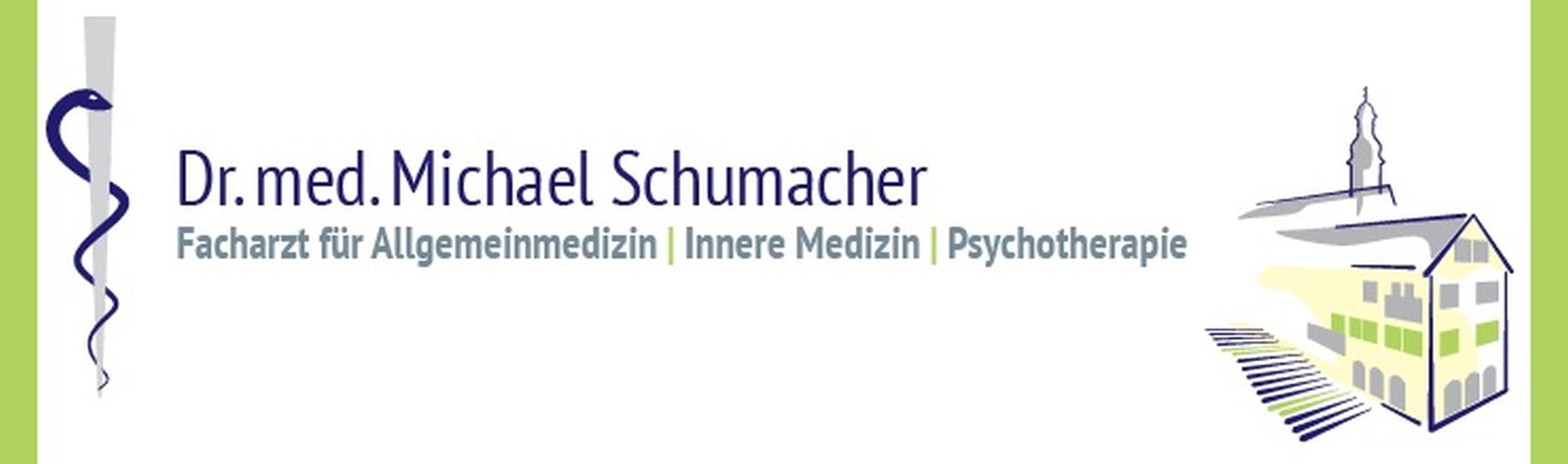 Logo Dr. med. Michael Schumacher - Facharzt für Allgemeinmedizin, Innere Medizin, Psychotherapie, Psychotherapeut